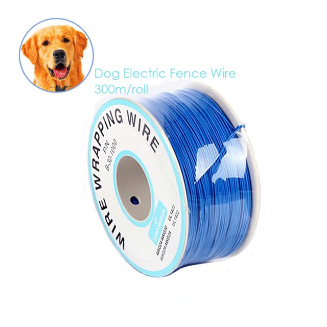 300M Long Electric Fence Wire Pet Electric Dog Training Collar Fence ...