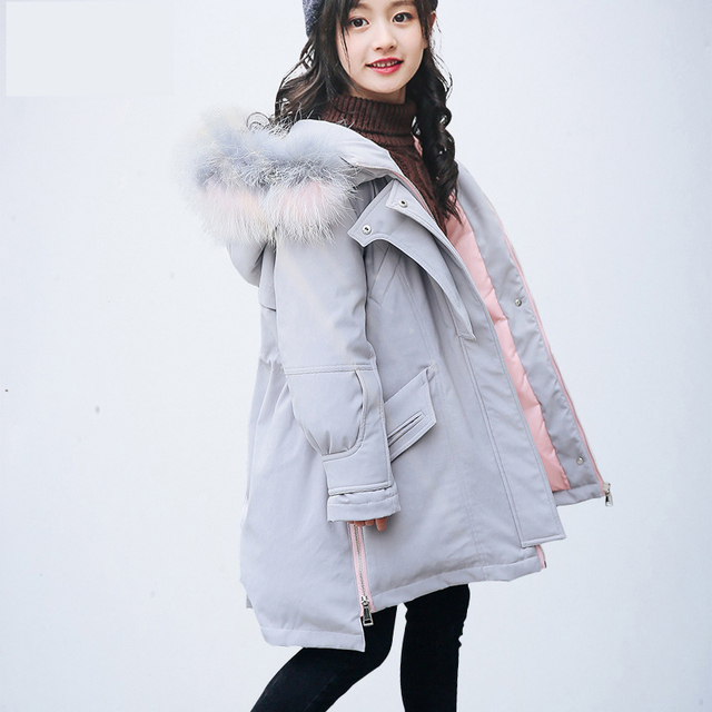 57e6169c51c1f Scsech New Fashion Jackets For Baby Girls Winter Thick Duck Down Jacket  Kids Hooded Warm Outerwear Coat Boys Girls Clothes S8703