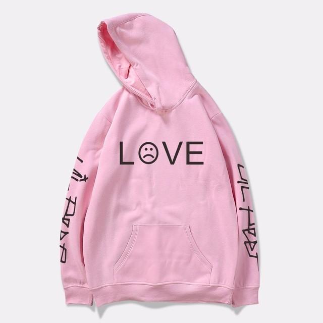 2018 Lil Peep Hoodies hell boy lil.peep men/women Hooded Pullover male/female sudaderas cry baby hood hoddie Sweatshirts love