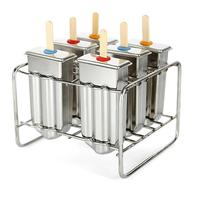 Food Grade Stainless Steel Summer Cool Popsicle Mold Home DIY Ice Cream Mold Kitchen Tool