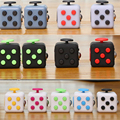 11 colors Original Cube toy puzzles Magic fidget Cube Cubo a vinyl desk toy Funny Christmas gift