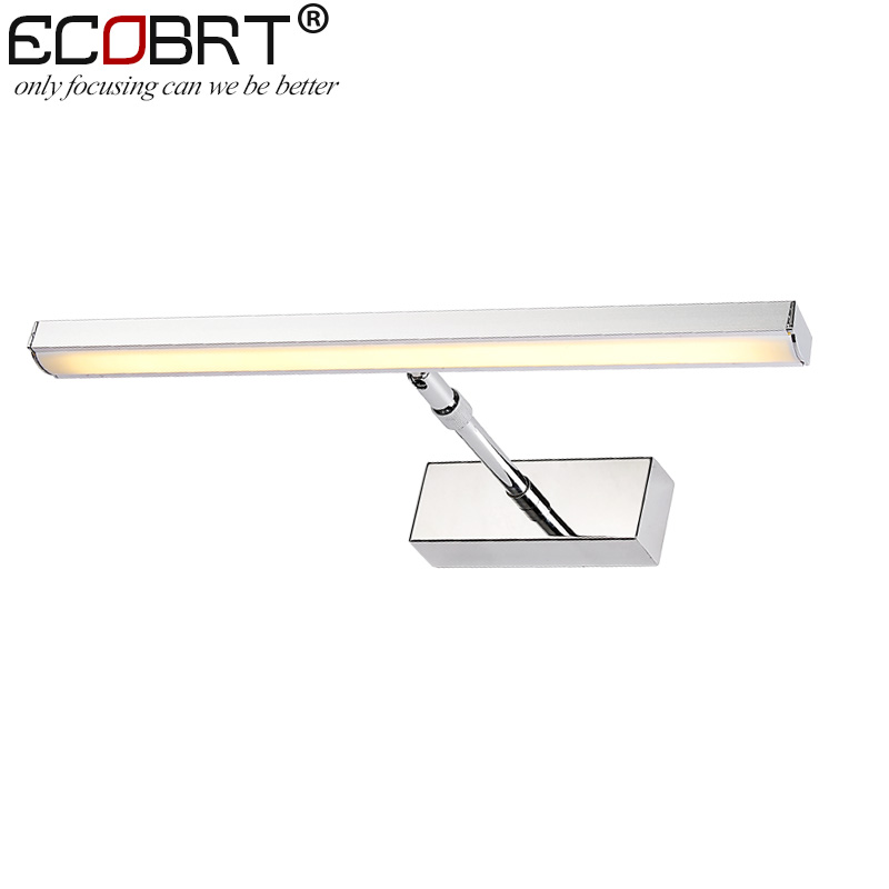 Modern 7W 12W LED Bathroom Cabinet Lights Surface Mounted 40cm Long Luminaria Picture Lamps Indoor Adjustable 85 265V