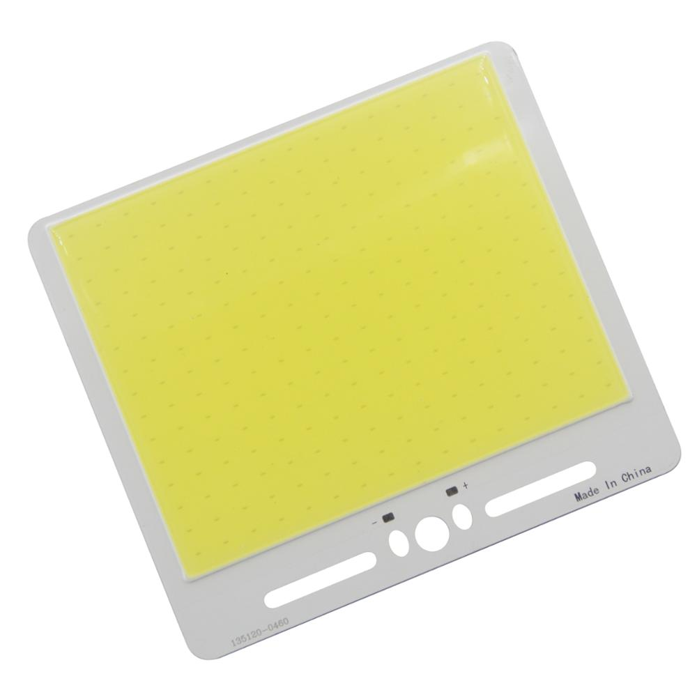 Купить с кэшбэком LED COB Bulb 240 leds 135x120mm 100W COB Strip  12V Wireless RF remote controller lamp Warm white LED COB FLIP Chip for outdoor