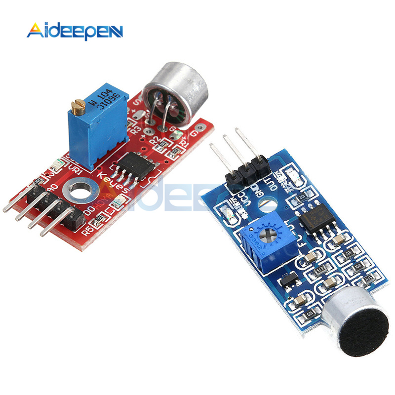 3.3V/5V High Sensitivity Mini Sound Microphone Sensor Detection Module 3Pin 4Pin For Arduino AVR PIC Instrument Parts & Accessories     - title=