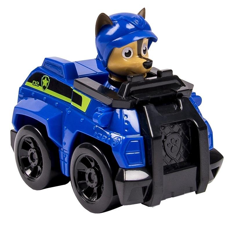Щенячий патруль собака автомобиль Patrulla Canina Juguetes дети щенок «Щенячий патруль» игрушки Фигурки Модель игрушки 1 шт.