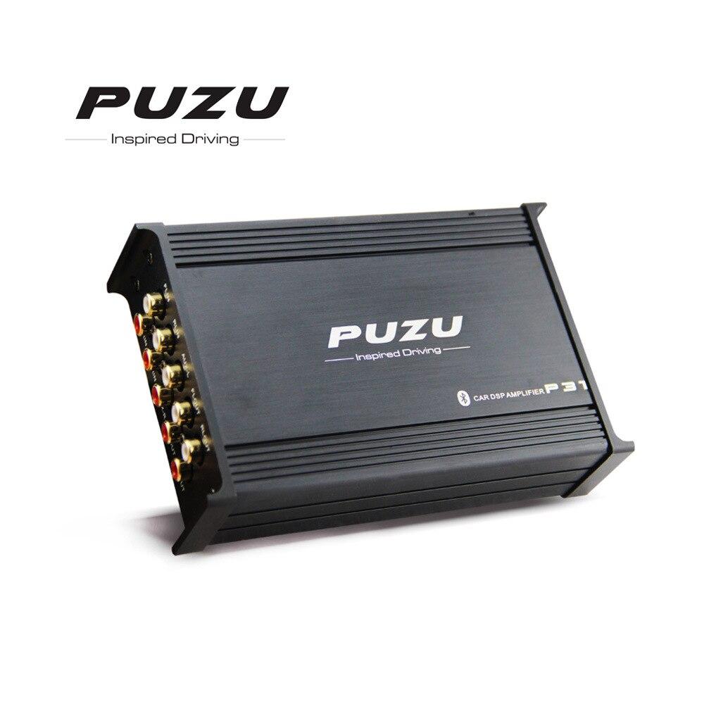 12V Auto Audio Car Audio Amplificatore di Potenza Subwoofer Bass Stereo Suono 31 bande Digital Auto DSP Amplificatore 4 canali a 6 canali