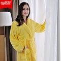 Thicking 100% хлопок халаты махровые халат утолщение халат 100% хлопок халат