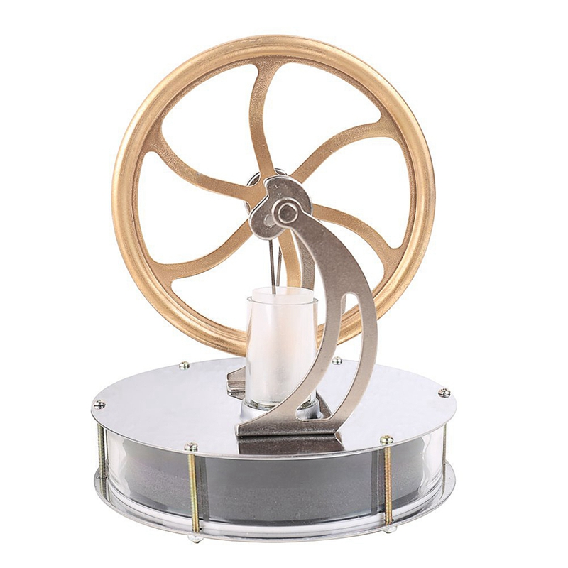 Low Temperature Stirling Engine Motor Steam Heat Education Model Toy Kit Run Off The Temperature Difference