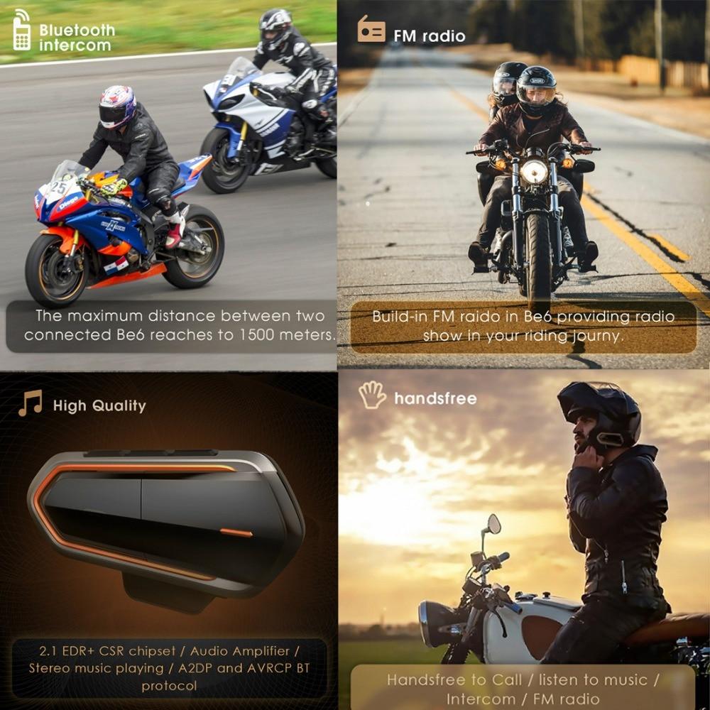E5688 Bluetooth Motorcycle Helmet Headset (4)