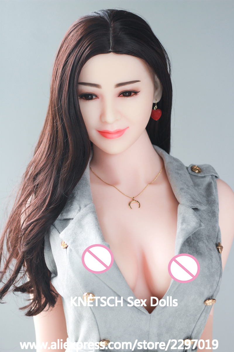 165cm Real Silicone Sex Doll Full Body Oral Vagina Real Pussy Love Doll with metal skeleton