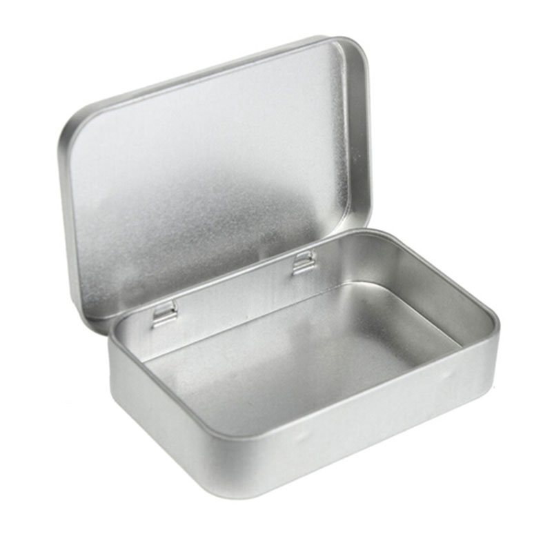 New Arrival Survival Kit Tin Higen Lid Small Empty Silver