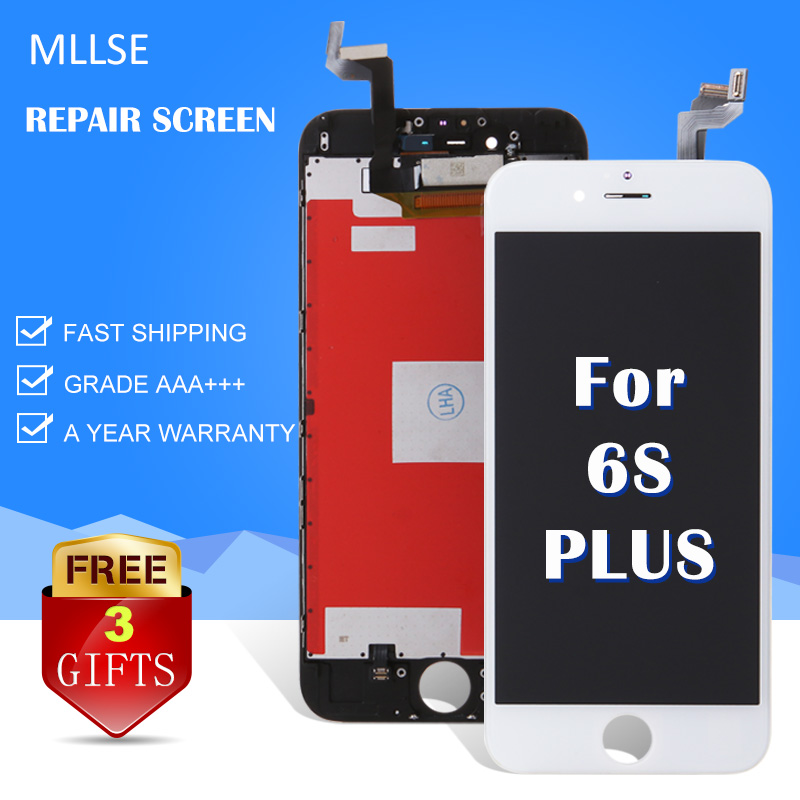 AAA + + + Pour iPhone 6 s Plus LCD Digitizer Complet 3D Écran tactile Avec Remplacement de L'assemblée complet Clone Module A1699 a1634 A1687