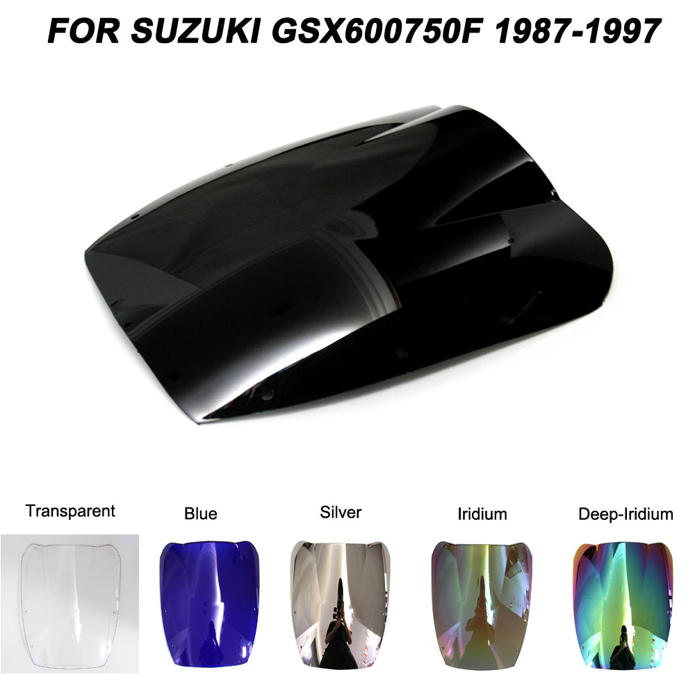 ABS Windscreen For Suzuki Katana GSX600F GSX750F GSX 600F 750F 1987-1997 Motorcycle Windshield Wind Deflectors