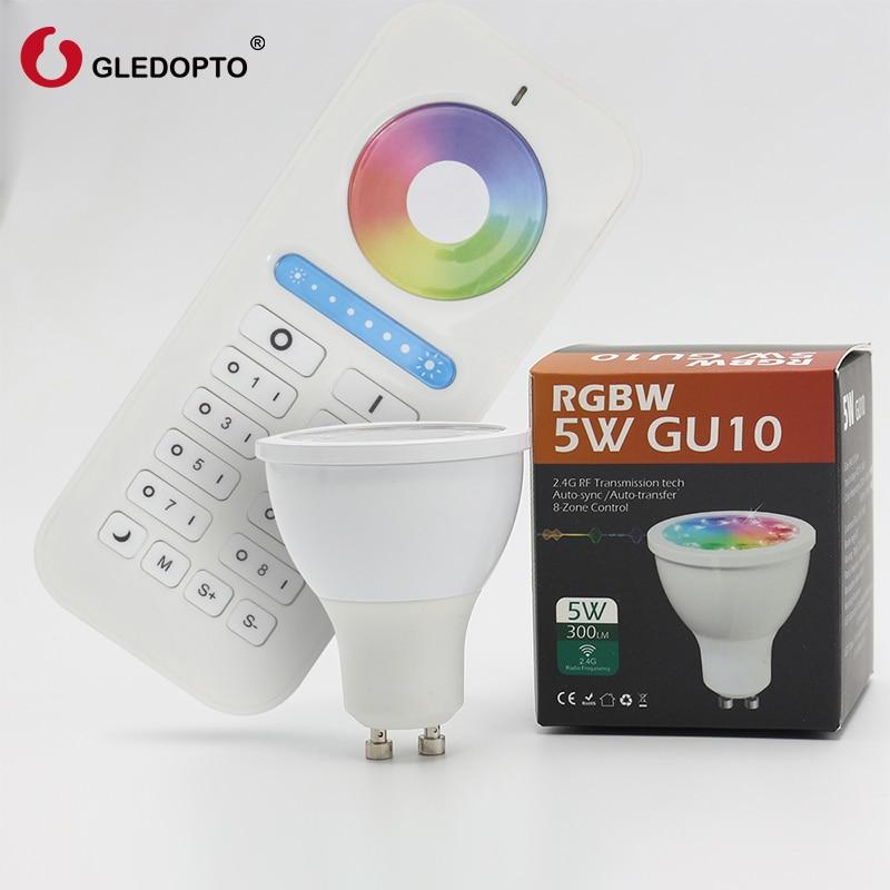 Chrismas popular rgb gu10 spot light , rgbw rgb cct gu10 spotlight wifi controller smart cup ios wifi led 2.4G RF controller l rgb gu10 spot light rgbw rgb cct gu10 spotlight zigbee zll 5w ac100 240v led app controller work with amazon echo plus led
