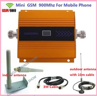 Newest gsm Signal booster ! GSM 900 Mobile Phone Booster Amplifier,Cell Phone Signal Booster Repeater + Omnidirectional antenna