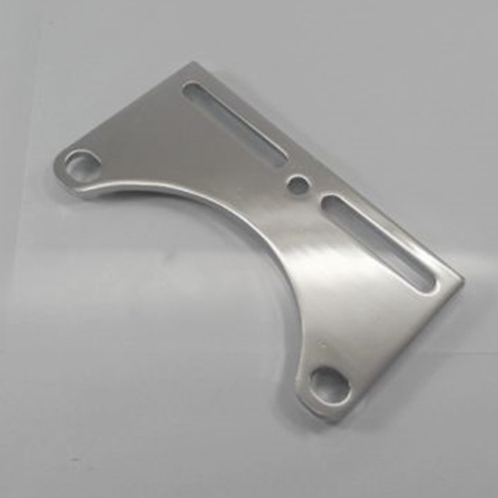 Soporte de los faros de cromo 33-45mm,Soporte Universal de la L/ámpara para Honda Suzuki Yamaha,Color Plata