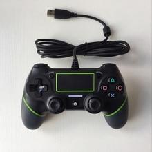 JIE LI Wired Controlador USB Gamepad Para Sony PlayStation PS4 Dualshock 4 Vibração Joystick