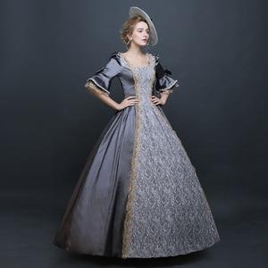 Image 4 - לוליטה גותית שמלת ויקטוריאני שמלת נסיכה מתוק לוליטה תחפושות קוספליי לוליטה סגנון רנסנס שמלה בתוספת גודל אליס