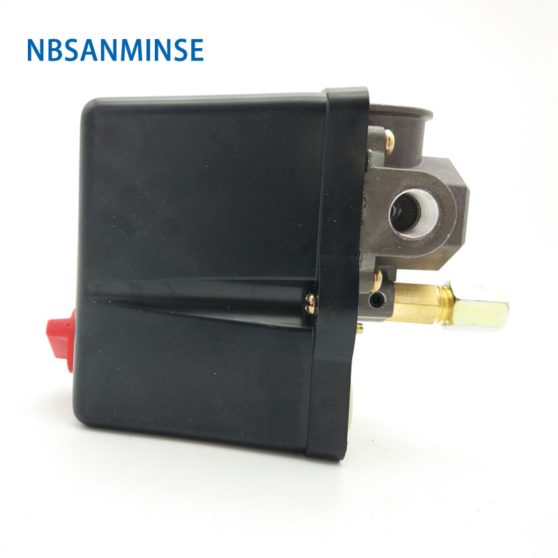 Nbsanminse Smf 18 1/4 3/8 1/2 Npt G Air Compressor And Pump Pressure Switch 3 Phase Pressure Switches High Quality