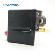 NBSANMINSE SMF 18 1/4 3/8 1/2 NPT G Air Compressor And Pump Pressure Switch 3 - Phase Switches High Quality