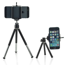 Universal Mini Tripod Desktop & Handle Stabilizer for Mobile Phone and All Action Camera Cell Phone Holder and Tripod Adapter