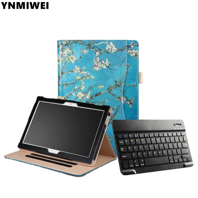 reputable site 0f1b0 d207a US $26.95 23% OFF|Tablet Case For Lenovo Tab4 10 TB X304F X304N Bluetooth  Keyboard Leather Case For Lenovo Tab 4 10 plus TB X704F/N-in Tablets & ...