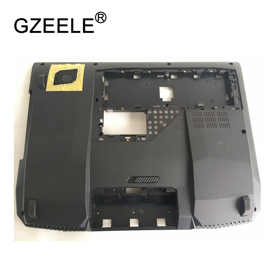 GZEELE new laptop Bottom case cover For Asus G750JH G750JS BOTTOM CASE lower case PN : 13N0-PCA0221 13NB0181AP0121 black gzeele new laptop bottom base case cover for toshiba satellite l50w l55w c l55w c5257 base chassis d cover case shell lower case