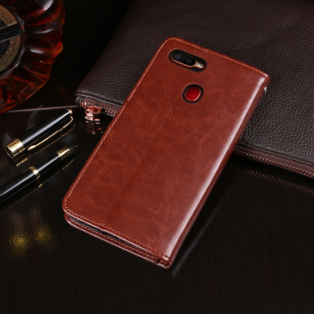 For OPPO A5s Case Flip Wallet Business Leather Fundas Phone Case for OPPO A5s Cover Capa with Card Holder Accessories