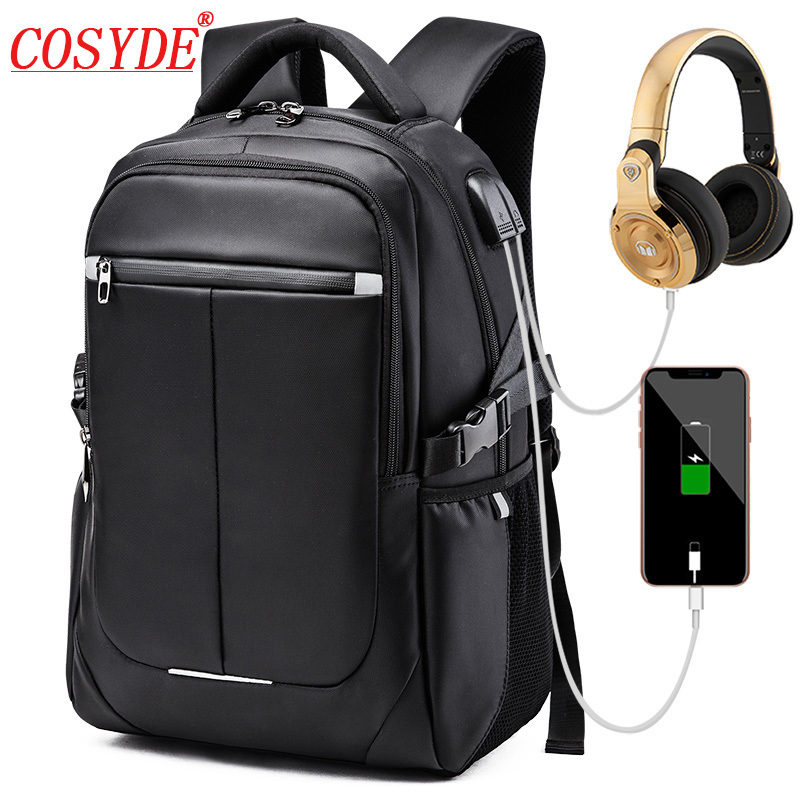 "High Quality Usb Charging Men 14""- 16"" Laptop Backpacks For Fashion Male Waterproof Mochila Leisure Travel Anti Thief Backpack"
