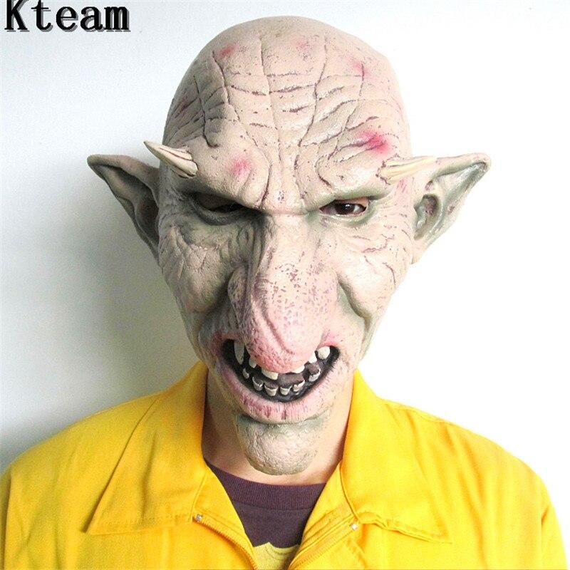 Novelty & Gag Toys Women Men Halloween Latex Mask Goblins Horror Creepy Party Cosplay Props Scary Masks Jokes Toys @ S7jn Online Shop Toys & Hobbies