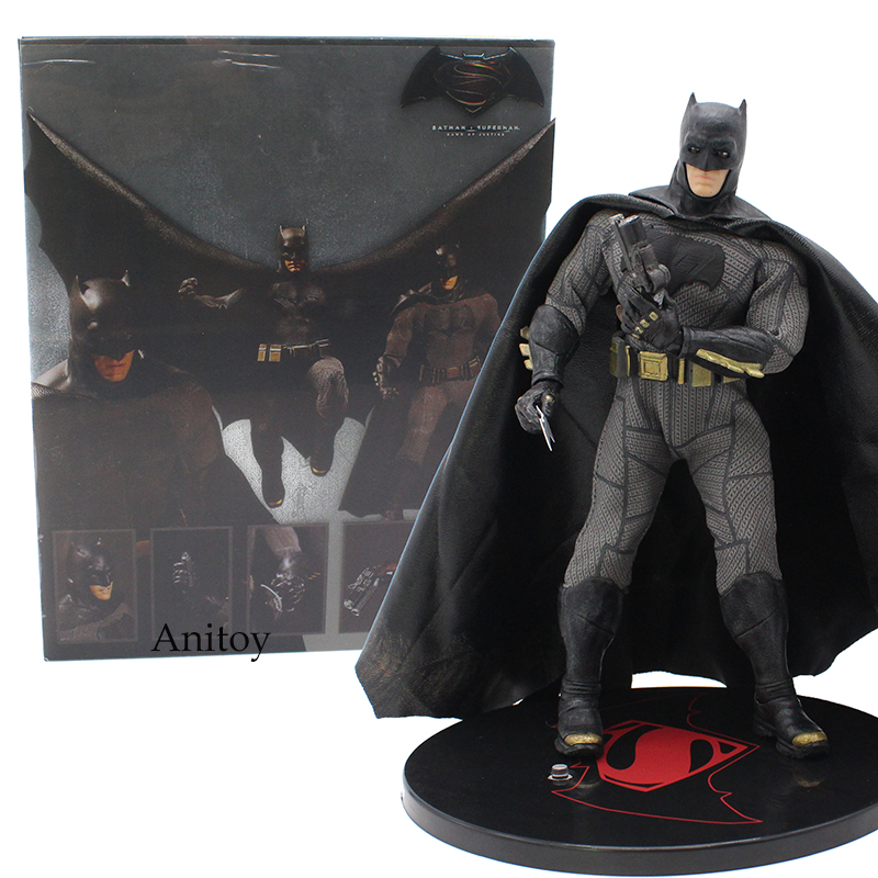 Anime Batman V Super hero Dawn of Justice Batman 1/12 Scale PVC Action Figure Collectible Model Toy 16cm KT4191 neca dc comics batman arkham origins super hero 1 4 scale action figure