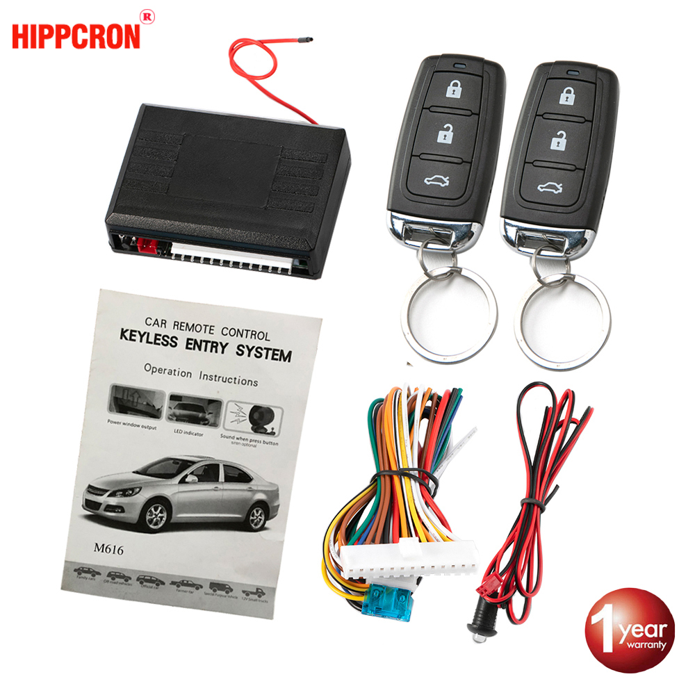 Door-Lock Car-Alarm-Systems Auto-Remote-Central-Kit  title=