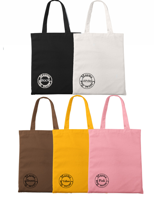 Customized Canvas Shopping Bag
