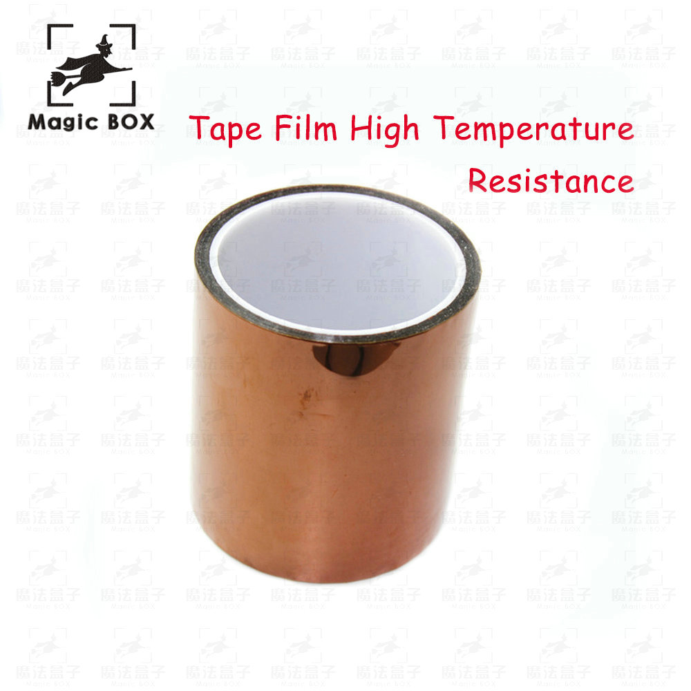 100mm X 33m 100ft Kapton Tape High Temperature Heat Resistant Polyimide for Reprap 3D Printer parts heated Bed 55mm x 33m 100ft kapton tape high temperature heat resistant polyimide fast ship
