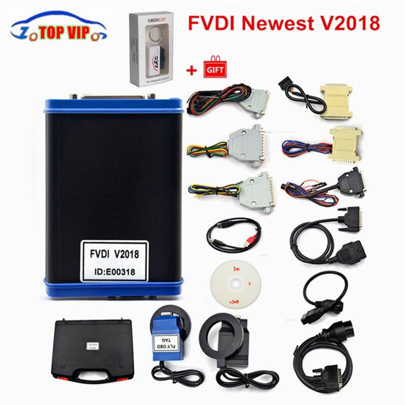 Date FVDI 2018 toutes les fonctions de VVDI2 V2016 V2015 V2014 FVDI version complète Pas Limitée Fvdi abrites commandant Mise À Jour En Ligne