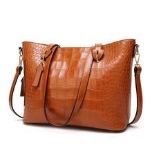 Brand Women PU Leather Handbags Lady Large Tote Casual Tophandle Bag Female Shoulder Bags Bolsas Femininas Sac A Main цена