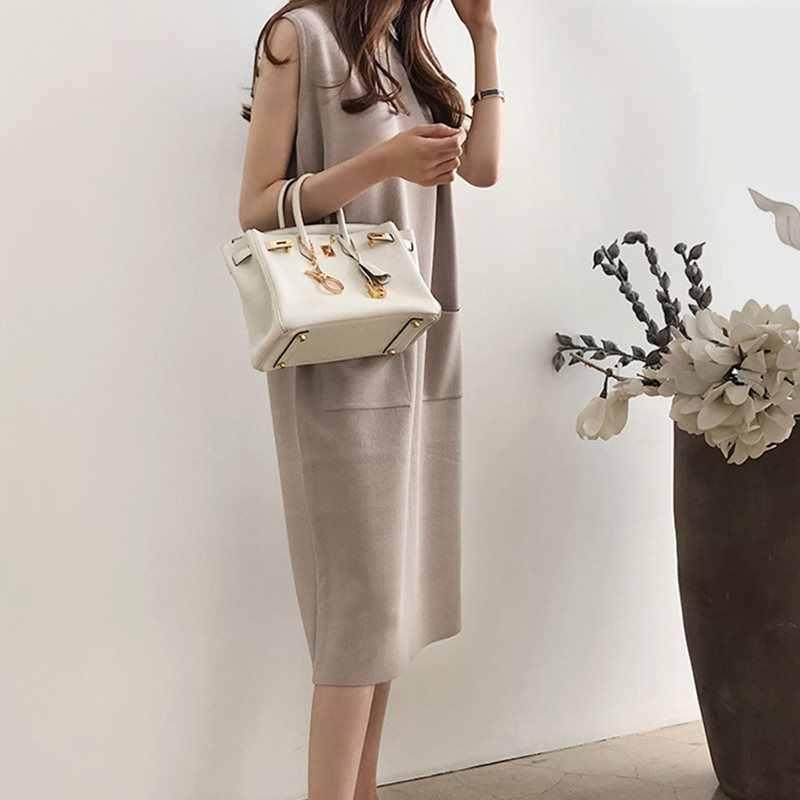 Летнее, японское, стильное, элегантное, простое, белое, винтажное, женское, миди платье, прямой карман, простое, 2019, корейское, женское, ретро, черное платье