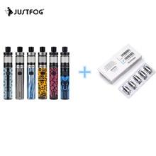 Justfog fog1 комплект 1500 мАч встроенный аккумулятор все в одном комплекте VAPE пера электронная сигарета 2 мл для стартеров и ветеранов