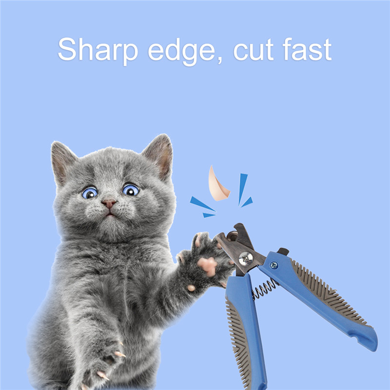 Professional Pet Nail Clipper With LED Light Dog Cat Safety Beauty Tools Scissors Clippers For Animals Care Products