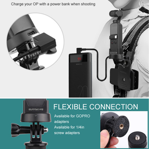 Image 3 - Zaktualizowane Bluetooth bezprzewodowy Adapter modułu dla DJI OSMO kieszeń kardana ręczna kamera bezprzewodowa Bluetooth do montażu na Adapter do gopro