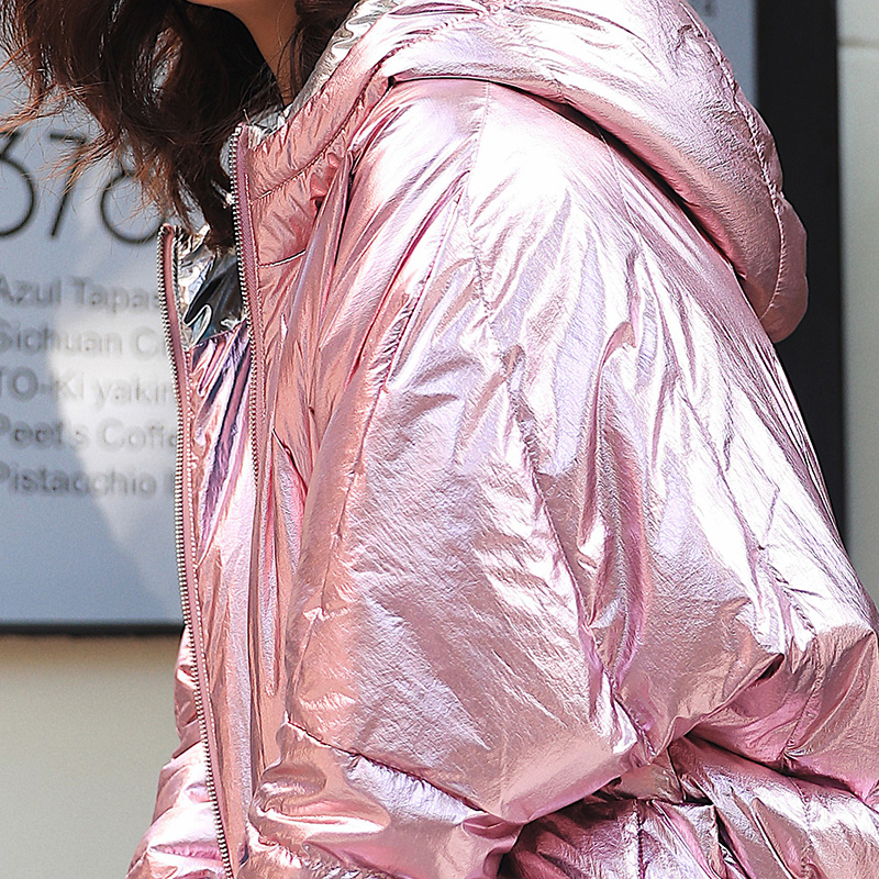 ARTKA Winter Coat Women Thick Glossy Long Down Jacket Fashion Warm 90% White Duck Down Coats High Quality Outwear ZK10187D
