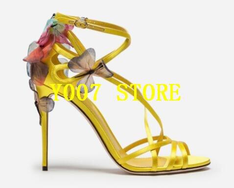 Emma Femmes Toe Chaussures Sandales Peep Fleurs Dames Hauts Partie Creux À Cheville Noir Bride Mince Roi Sexy Pour Nouveau bleu Talons or La 4R3jA5L