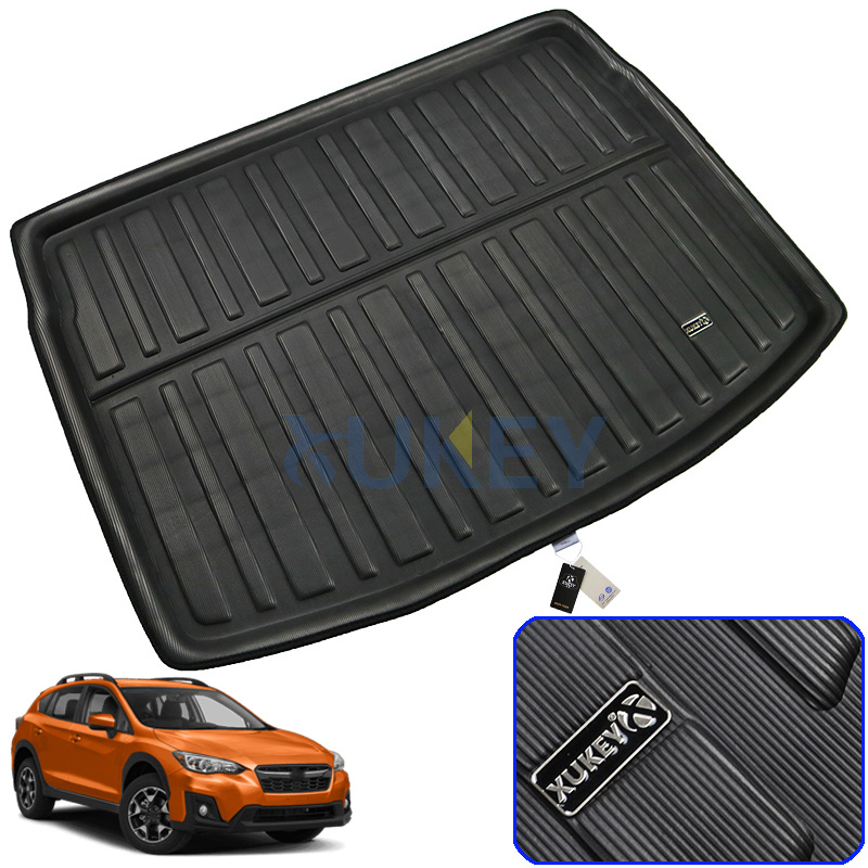 Automobiles & Motorcycles Rubber Car Heavy Duty Universal Waterproof Boot Liner Rear Car Back Seat Protector Mats Fit For Bmw X1 E84 2009-2015 Matching In Colour