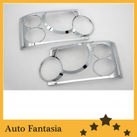 Auto Chrome Parts Chrome Head Light Cover for Range Rover HSE (L322) 05 10 Free Shipping