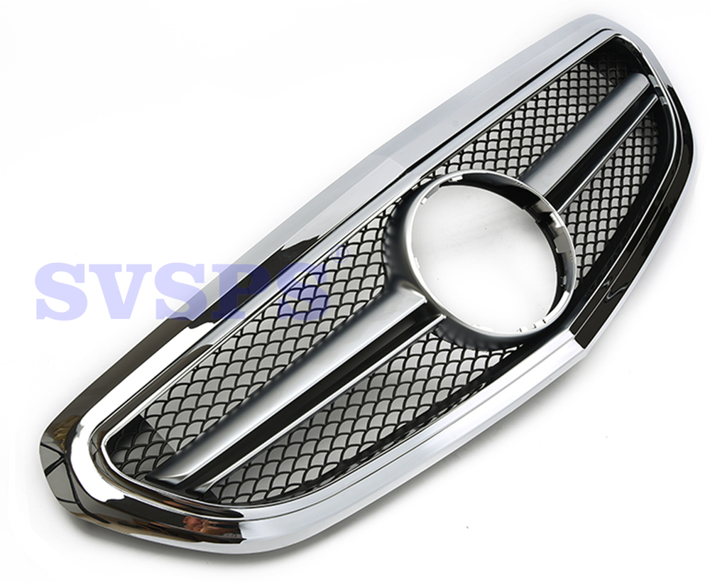 Front Tuning Grill for Mercedes W212 E class AMG E63 Vehicle car parts radiator grilles Plastic business vehcile 2014 2016year