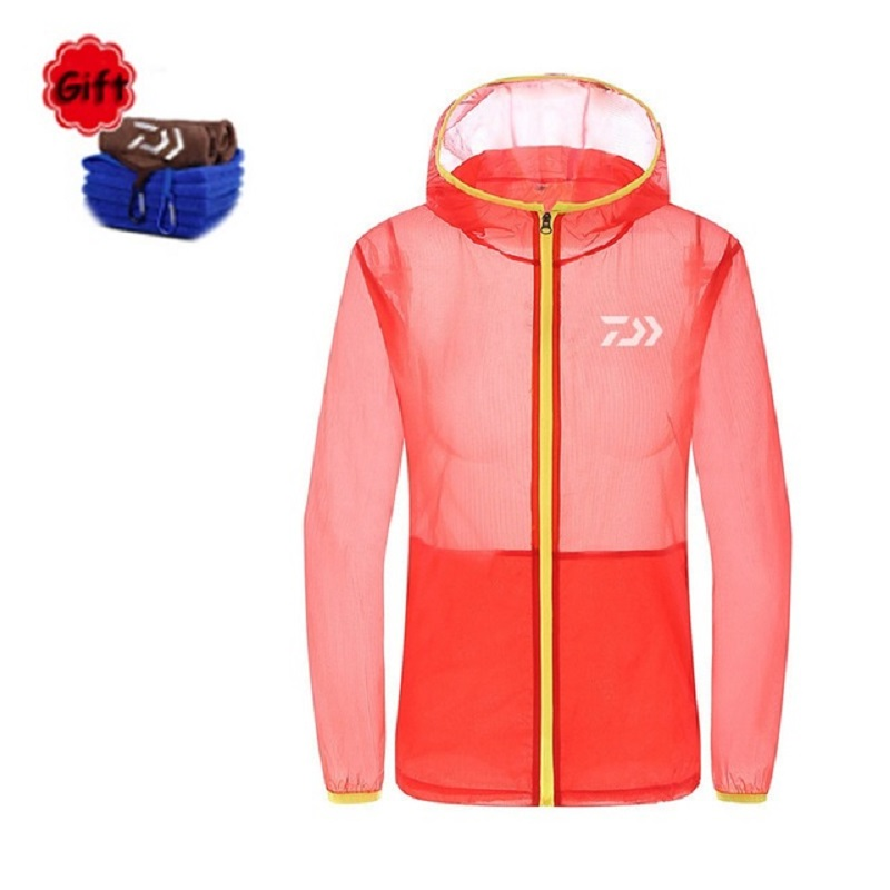1PC Woman Spring Summer Fishing Clothing Coat Female Breathable Anti UV Outdoor Sportswear Quick Dry Fishing Towel Fishing Tools|Fishing Clothings| |  -