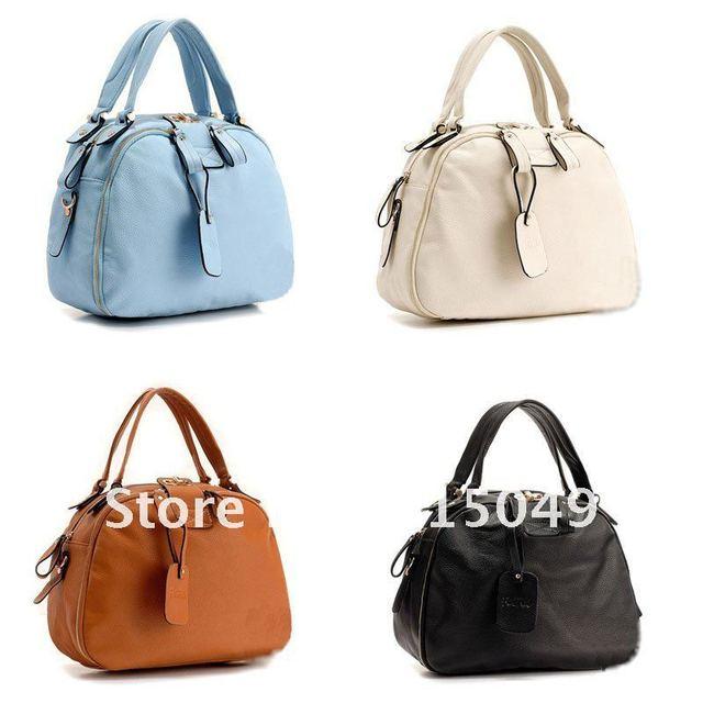 A858 new Leather lady women handbag purse Bag tote hobo shoulder bag Weekend Bag