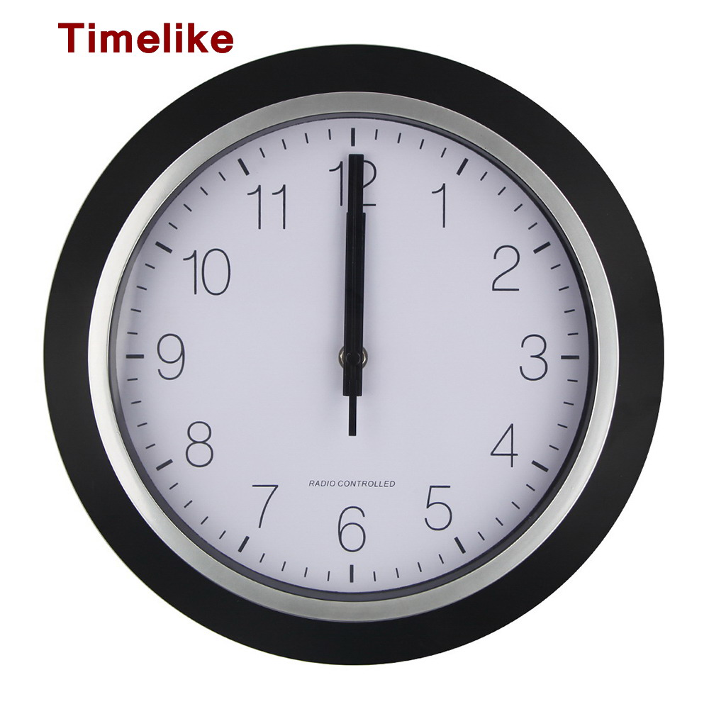 Usa Radio Controlled Wall Clock Personalized Mute Wall