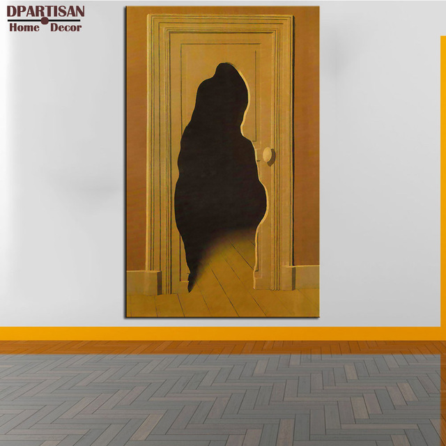 Aliexpress.com : Buy DPARTISAN Rene Magritte 1933 Unexpected answer ...
