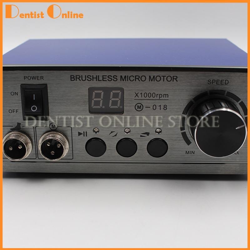 70,000 rpm Non-Carbonio Brushless Alluminio Borsette Dentale Micromotore Lucidatura Unità Unità di Controllo Micromotore